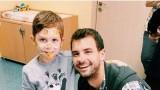Григор Димитров посети дом за деца в Перник