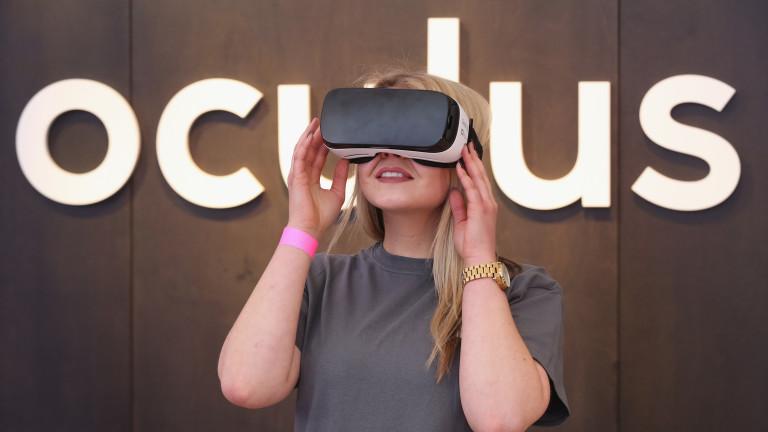 Facebook вече разполага с VR oчила в лицето на Oculus