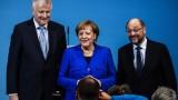 """Меркел обеща """"ново начало"""" за Европа след сформиране на правителство"""