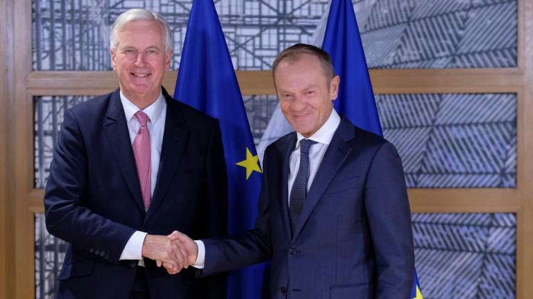 Снимка: Брюксел предложи преходният период след Брекзит да бъде удължен с 1 г.