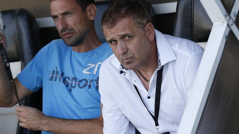 Бруно Акрапович: Контролирахме по-голямата част от мача