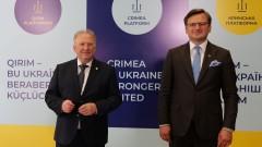 България твърдо подкрепя Украйна и е загрижена за милитаризацията на Черно море
