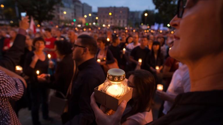 Хиляди поляци протестираха срещу съдебната реформа