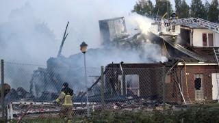 Пожар унищожи джамия в Швеция