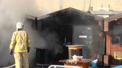 Изгоряха до основи две заведения на центъра в Бургас