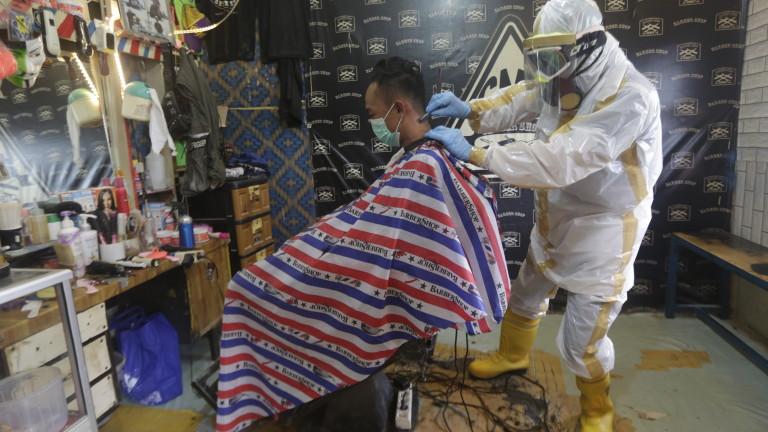 Индонезия е регистрирала още 218 новозаразени с коронавирус през последните
