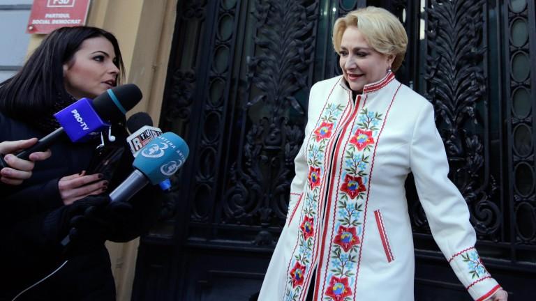 Жена вади Румъния от правителствената криза