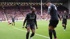 """Шефилд Юнайтед затрудни Ливърпул, но не спря победната серия на """"червените"""""""