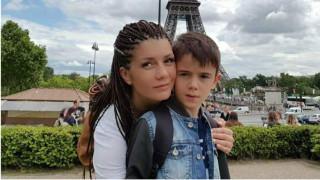 Кали отиде със семейството си в Париж