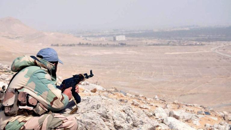 Сирийската армия влезе в провинция Рака за пръв път от 2014 г.