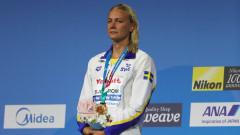 Сара Сьострьом започна златните медали с 100 метра бътерфлай