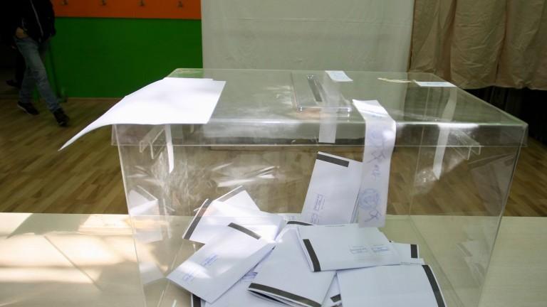 36,37% за Фандъкова срещу 27,79% за Манолова при 100% от ЦИК