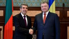 Крим е Украйна и Украйна е Европа, заяви Плевнелиев в Киев