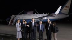 КНДР се върна в реалния свят, обяви Тръмп и посрещна освободените американци