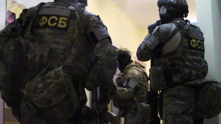 ФСБ арестуваха седмина, подготвяли терористични актове в Санкт Петербург