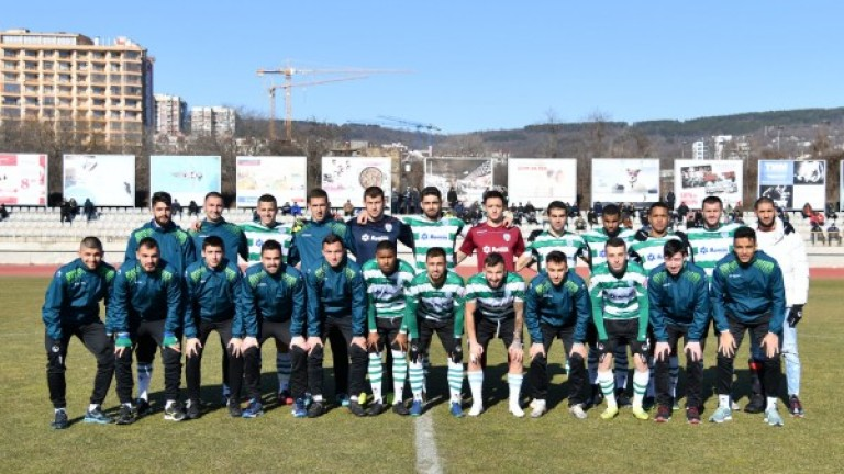 Групата на Черно море за мача с Дунав