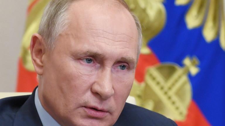Путин разтревожен от скока на починалите от COVID-19 в Русия