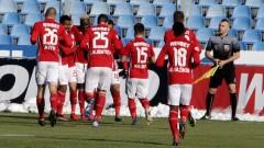 ЦСКА се промъкна на 1/4-финалите за Купата, Соу с гол, но и с червен картон в Кърджали