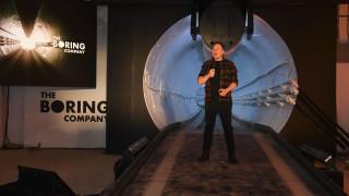 Илон Мъск показа първия си тунел