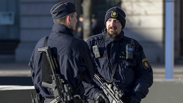 Шведската полиция е арестувала лице, заподозряно в планиране на терористично