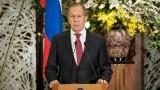Лавров убеден: Великобритания умишлено подкопава отношенията с Русия
