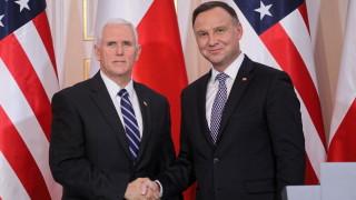 Дуда очаква засилено американско военно присъствие в Полша
