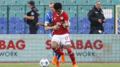 Левски - ЦСКА 2:3 (Развой на срещата по минути)