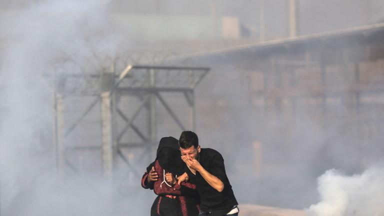 Продължаващите сблъсъци между израелските власти и палестинци в Газа взеха