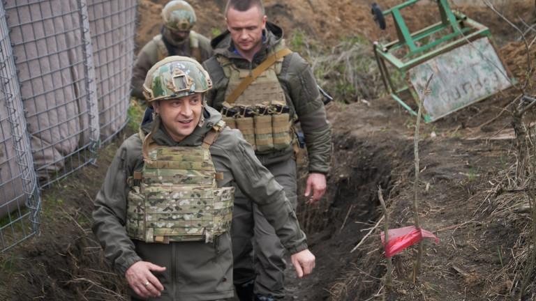 Украйна започна големи учения край Крим