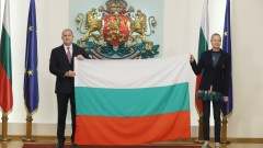 Президентът връчи трибагреника на българските олимпийци