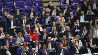 Бундестагът постави Ердоган на мястото му