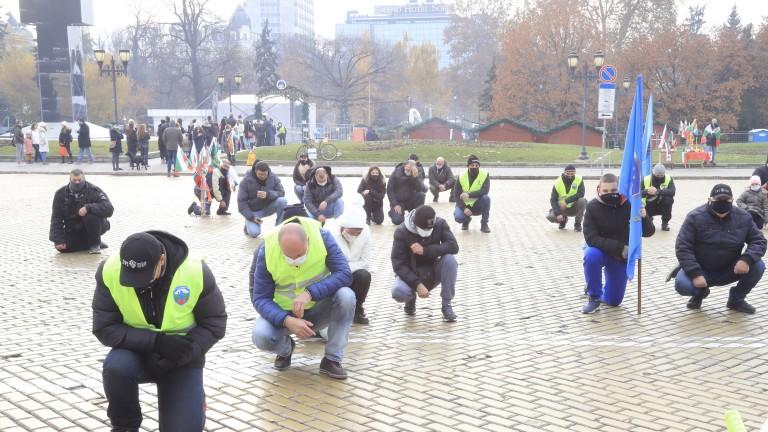 В камерен формат премина вторият протест на полицаите - заради епидемията