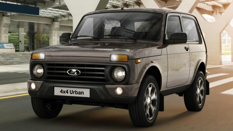 Всъдеходът Lada 4x4 стана по-тих, по-удобен и по-безопасен