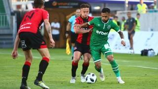 Торпедо (Кутаиси) - Лудогорец 0:1, гол на Вандерсон!