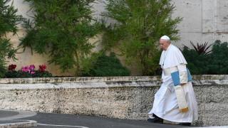 За папата безработицата е съвременна трагедия на световно ниво