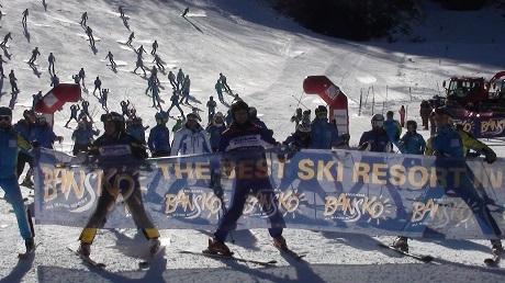 Над половин милион туристи са били на ски в Банско