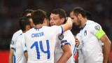Италия разби Гърция за едно полувреме