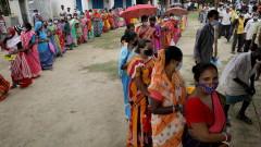 Индия с глобален рекорд - близо 315 000 заразени за денонощие