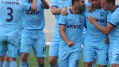 Звездата на Созопол на линия за мача с ЦСКА
