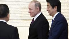 Путин и Абе се срещат на 22 януари