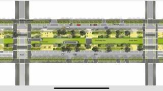 """Зелените трамвайни релси от Руски паметник до """"Македония"""" ще преминават през линеен градски парк"""