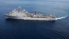 Нов десантен кораб на САЩ влезе в Черно море