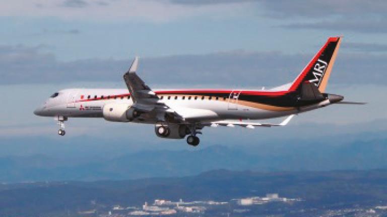 Снимка: Японски самолет ще сложи края на монопола на Boeing и Airbus