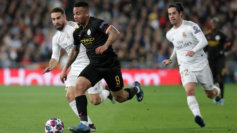 Габриел Жезус коментира гола си в 1/8-финалната среща на Шампионската