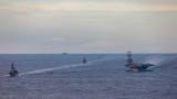 САЩ провеждат военноморски учения в Азия на фона на напрежението с Китай