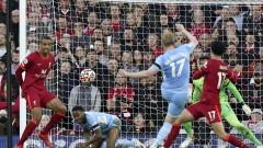 """Ливърпул и Манчестър Сити оправдаха очакванията за спектакъл на """"Анфийлд"""""""
