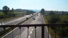 """Гърци започват строителството на 15-километра от магистрала """"Струма"""""""