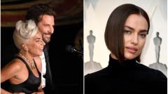 Лейди Гага ли е причината за раздялата на Брадли Купър и Ирина Шейк