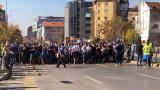 Сериозен наплив за шествието на Левски (ВИДЕО)