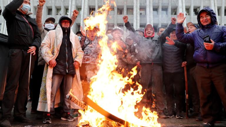ЦИК в Киргизстан обяви за недействителни резултатите от парламентарния вот